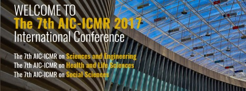 THE 7th AIC-ICMR 2017 INTERNATIONAL CONFERENCE